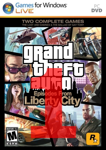 Патч для GTA 4 Episodes from Liberty City 1.1.1.0.
